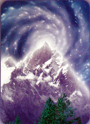 Mountain on the Violet Planet