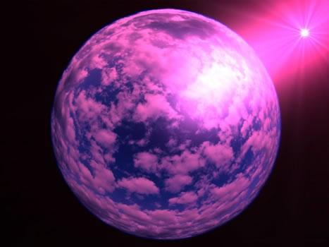 Violet Planet